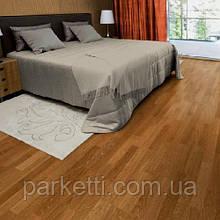 Паркетная доска Focus Floor Дуб Lombarde 3-полосный, коричневый матовый лак