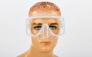 Маска для плавания в пластиковом боксе Legend DRA-M109-SIL (термостекло, силикон прозрачный, пластик, прозрачный)