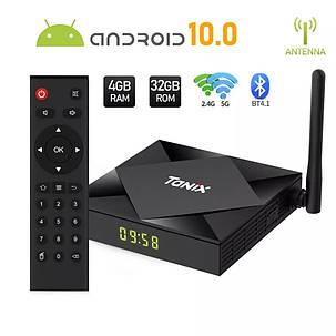 TV Box Smart TV Tanix TX6S 4/32GB And 10 Allwinner H616 WiFi: 2,4G/5G, фото 2