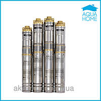 Насос для скважины  Sprut QGDa 1.5-120-1.1+пульт управления шнековый