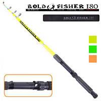 """Спиннинг телескоп """"Bold fisher"""" R-001-1.8, длина 1.8м, тест 60-120г, 5к, спиннинги, рыболовный спиннинг"""