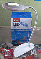 Лампа настольная аккумуляторная гибкая XPC T-6531 (белая)