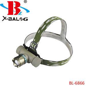 Налобный фонарик Bailong Police BL-6866, (Оригинал)