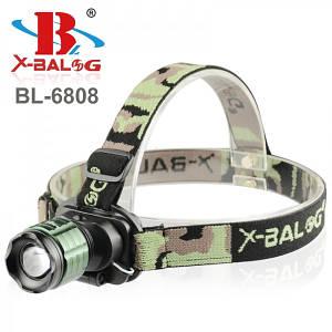 Налобный фонарик Bailong Police BL-6808, (Оригинал)