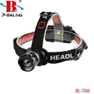 Налобный фонарь Bailong Police BL-T06-T6, (Оригинал)