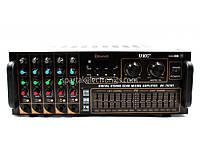 Підсилювач потужності звуку AMP 767BT, рівень безпеки 2 ступеня, USB порт, SD / MMC, 25Hz ~ 20KHz (± 2dB), аудіо підсилювач, посилення звуку