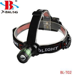 Налобный фонарь Bailong Police BL-T02-T6, (Оригинал)