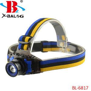 Налобный фонарь Bailong Police BL-6817, (Оригинал)