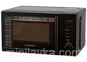 Микроволновая печь Liberton LMW-2085E 20 л. 700 Вт.
