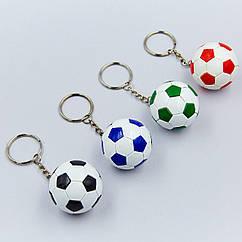 Брелок Мяч футбольный FB-0562 (металл, d-4,2см, 1уп-12шт, цена за 1 шт.)