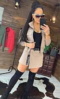 Костюм женский кофта+юбка-шорты Люкс (без пояса)