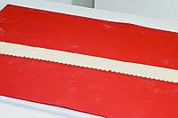 40-W033 Форма для торта штамп-бордюр Martellato 204х50 мм