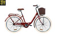 "Велосипед 26"" Dorozhnik LUX 2020 рубиновый"