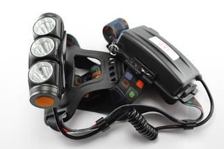 Налобный фонарик Bailong Police BL-2155-T6, (Оригинал)