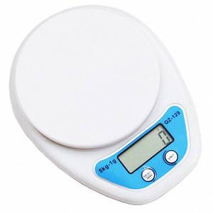 Весы кухонные QZ-129 5кг (1г), (Оригинал)