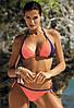 Купальник бикини M 427 ANIS с мягкой чашкой (S-XL в расцветках) Салатовый, S, фото 3