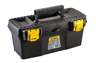 """Ящик для інструменту Topex - 15"""" пластик замок, (Оригінал)"""