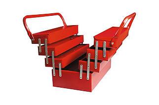 Ящик для инструмента Mastertool - 330 мм x 7 секций, металлический (79-3307), (Оригинал)