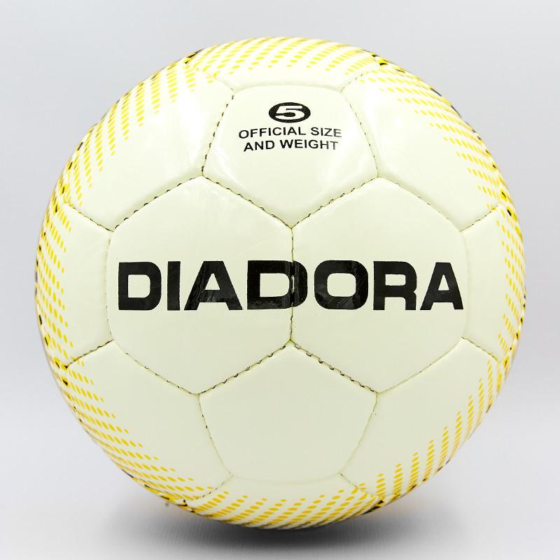 Мяч футбольный №5 PU ламин. DIA FB-8111 (№5, 5 сл., сшит вручную)