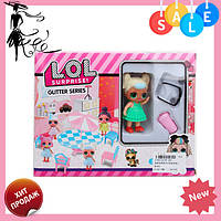 ЛОЛ Сюрприз МЕБЕЛЬ PP-667 LOL | кукла LOL Glitter Series | куколка ЛОЛ мебель! Топ продаж
