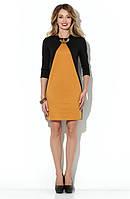 Трикотажное А-образное платье от Lusien UA 42