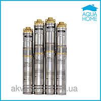 Насос для скважины Sprut QGDa 1,2-100-0.75 + пульт управления шнековый