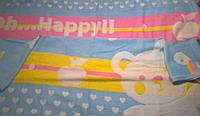 Махровое одеяльце 105х110, цветное 2