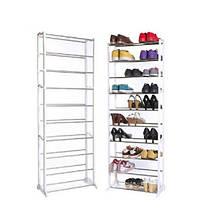 Полка для обуви складная Amazing Shoe Rack 338 LR (10 уровней)