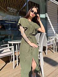 Платье с карманами Лето 2020