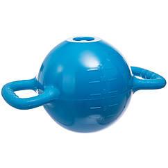 Гиря водоналивная для фитнеса FI-1715 (PVC, р-р 36х20см, цвета в ассортименте)