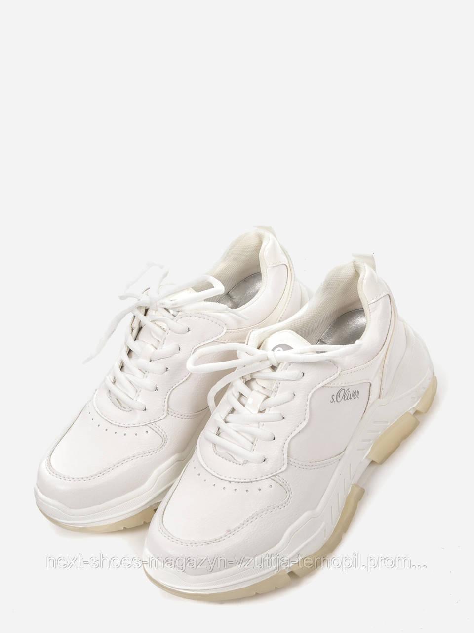 Кросівки s.Oliver Артикул 5-5-23677-24 (білі)