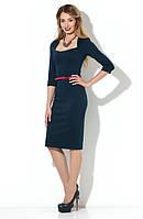 Трикотажное, стильное платье от Lusien UA 43, фото 1