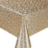 Клеенка ПВХ в рулоне MA-2552 двусторонняя чеканная, 1.37*20м, клеенка столовая в рулонах, клеенка пвх, клеенка для стола, скатерти, клеенка