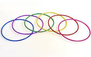 Обруч цельный гимнастический пластиковый Record FI-3375-45 (d-45см, для детей 3-5лет, цвета в ассортименте)