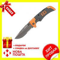 Туристический складной нож Gerber Bear Grylls Folding Sheath Knife! Топ Продаж