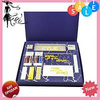 Подарочный набор косметики Kylie Weather Collection синий | Кайли! Топ продаж
