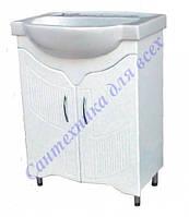 Тумба для ванной комнаты Дакар Т1 декор с умывальником Акцент-65