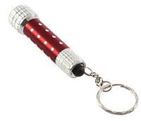 (Ціна за 24 шт.) Ліхтарик - брелок SF 5 LED, метал, різні кольори, міні - ліхтарик, ліхтар