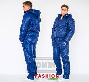 Мужской зимний костюм с теплой подкладкой , фото 2