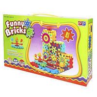 Детский развивающий конструктор Funny Bricks, конструктор для развития, интерактивная игрушка, Фани брикс Подр! Топ Продаж