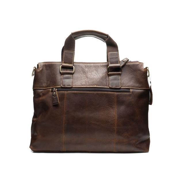 Чоловічий шкіряний портфель Marrant коричневого кольору