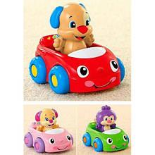 """Навчальна іграшка """"Друзі на машині"""" Fisher-Price"""