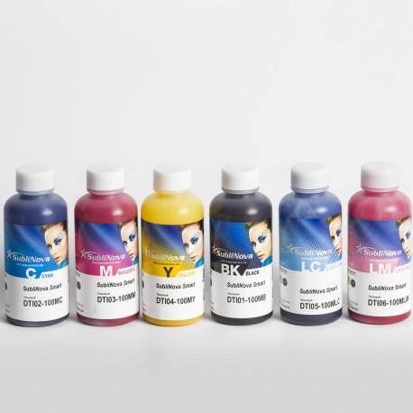Комплект чернил InkTec SubliNova Smart 100 мл (6 цветов)