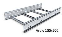 Кабельрост 100х500 (лоток лестничный, лоток лестничного типа) ДКС