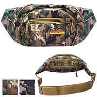 """Сумка - бананка поясная для рыбалки и охоты """"Sport"""" N02225, размер 35*14*5см, разные расцветки, сумки, рюкзак, сумка на охоту, снаряжение для охоты и"""