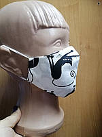 Детская хлопковая защитная маска
