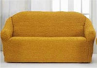 Накидка на диван №6 Желтая! Топ Продаж