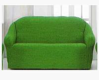 Накидка на диван №6 Зеленый цвет! Топ Продаж