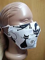 Хлопковая защитная маска