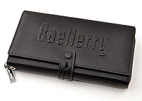 Новый мужское портмоне клатч кошелёк Baellerry Guero Байлерри S1393, цвет черный! Топ Продаж